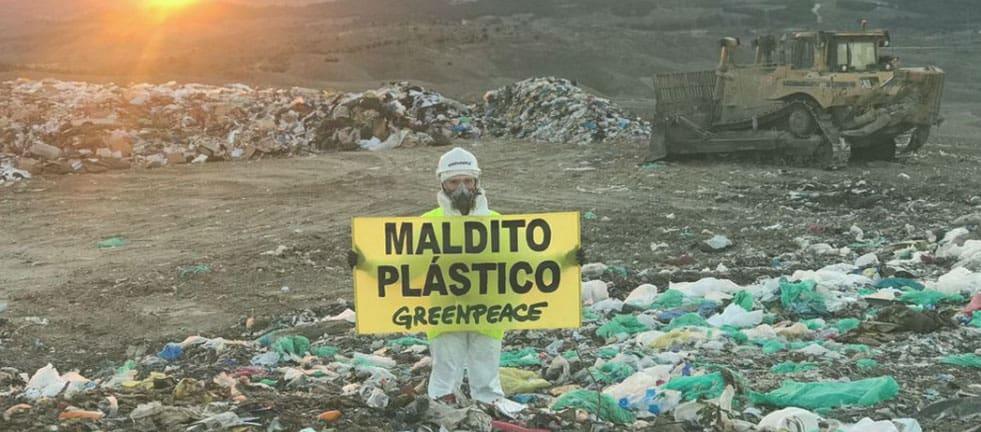 plastico y greenpeace