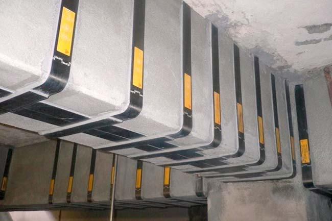 Refeurzo estructural con fibra de carbono