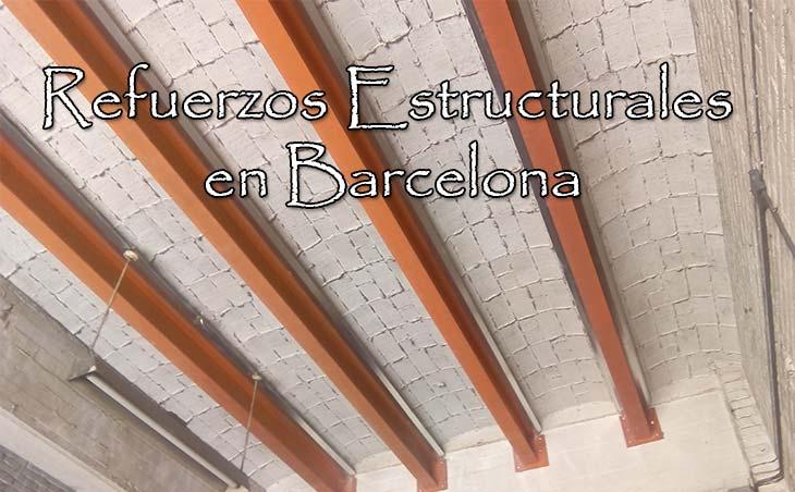 refuerzo estructural en barcelona