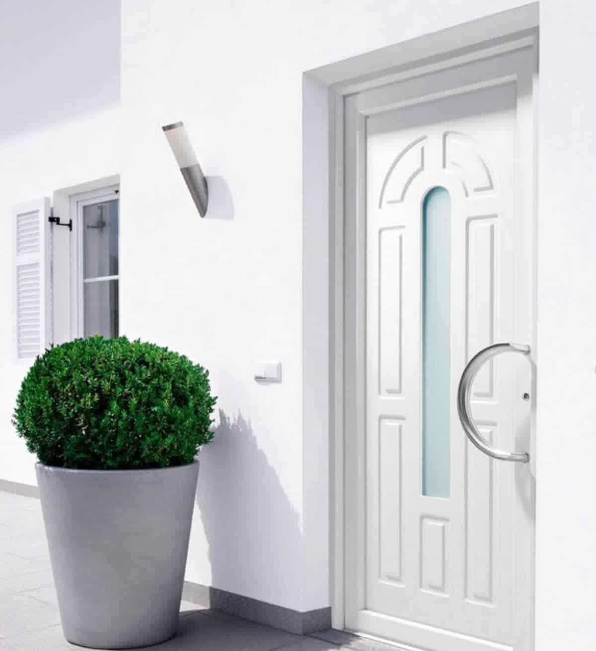 Foto de puerta de aluminio