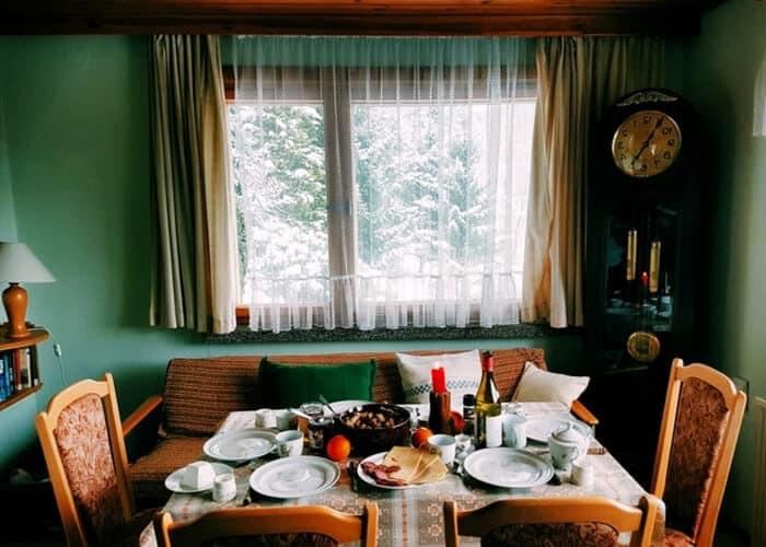 habitacion caliente en invierno