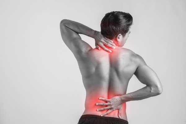 espalda dolorida